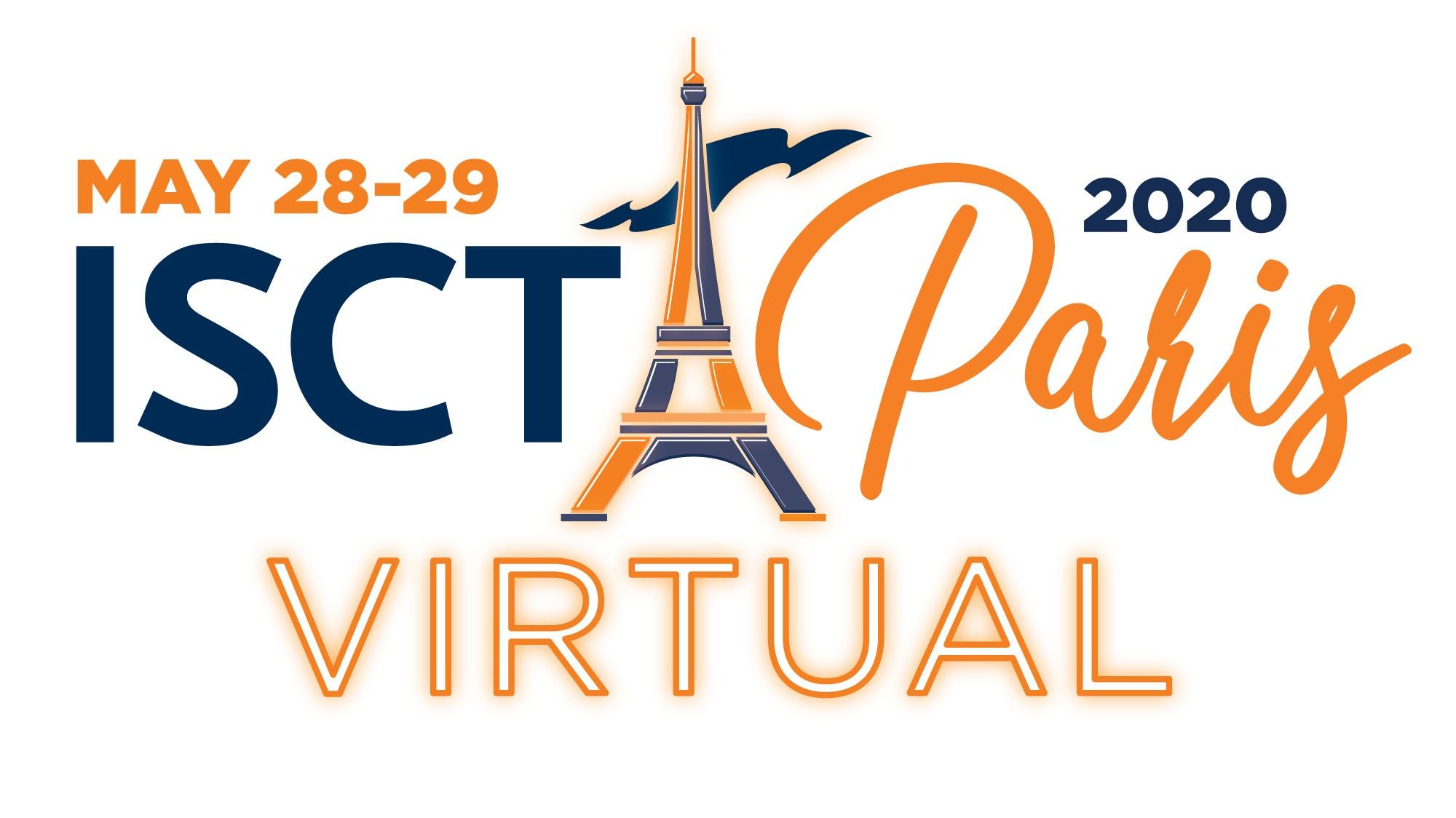 ISCT 2020 Paris Virtual Logo
